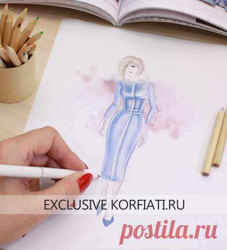 The sketch of model and technical drawing - councils from Anastasia Korfiati