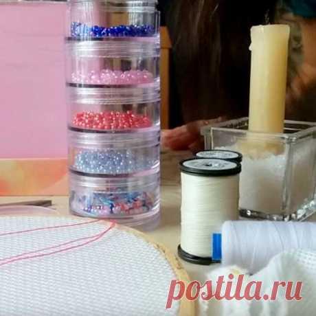 Как вышивать бисером? Популярные виды швов