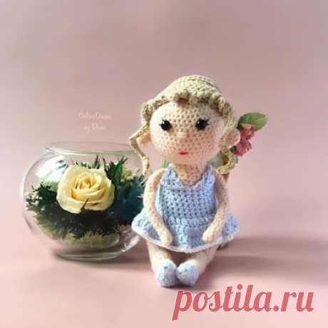 1000 схем амигуруми на русском: Вязаная кукла Лолли
