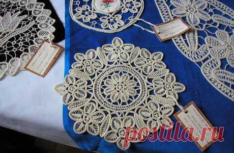 Румынское кружево для украшения одежды и интерьера
