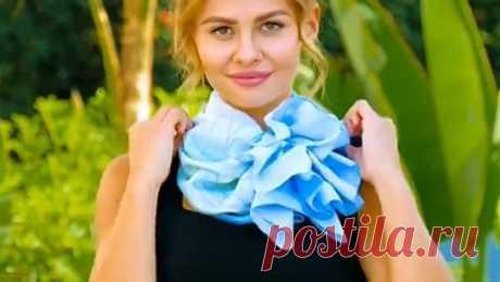 Стильные способы укутаться шарфом потеплее