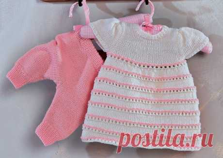 Knitting for newborns: 14 models spokes with schemes and the description