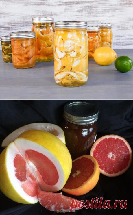 La tintura de los huesos y la piel de la toronja — las propiedades únicas salubres