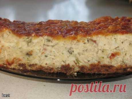 Рыбный пирог - кулинарный рецепт