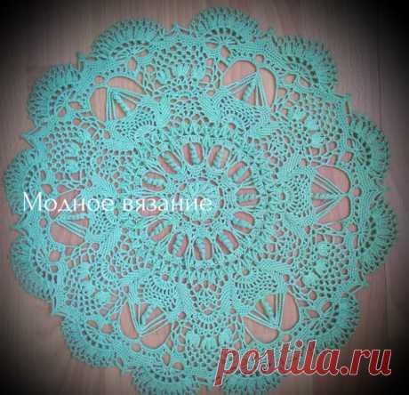 Красивые салфетки крючком в вашу коллекцию - Crochet - Modnoe Vyazanie