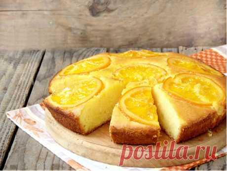 """Пирог """"Вера"""" - угощение к чаю всего из 2-х апельсинов Сочный невероятно ароматный апельсиновый пирог с ярким, солнечным цветом, то что нужно в осеннюю пору! Непременно приготовьте этот вкусный и простой бюджетный пирог!"""