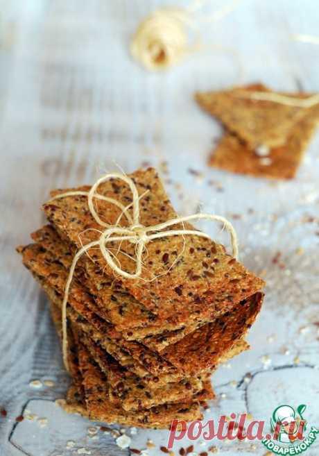 Безглютеновые постные хлебцы – кулинарный рецепт