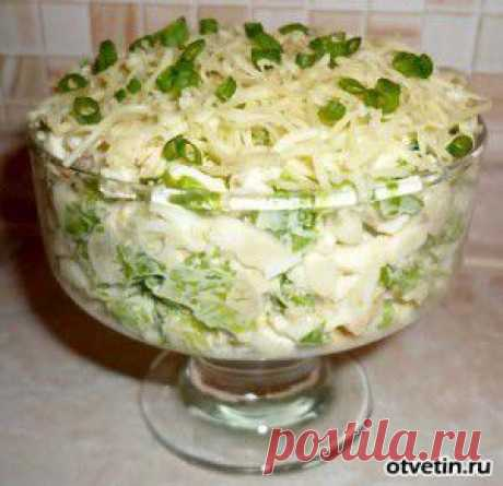 """Salad which right there competed """"Шубе"""": it is even more tasty."""