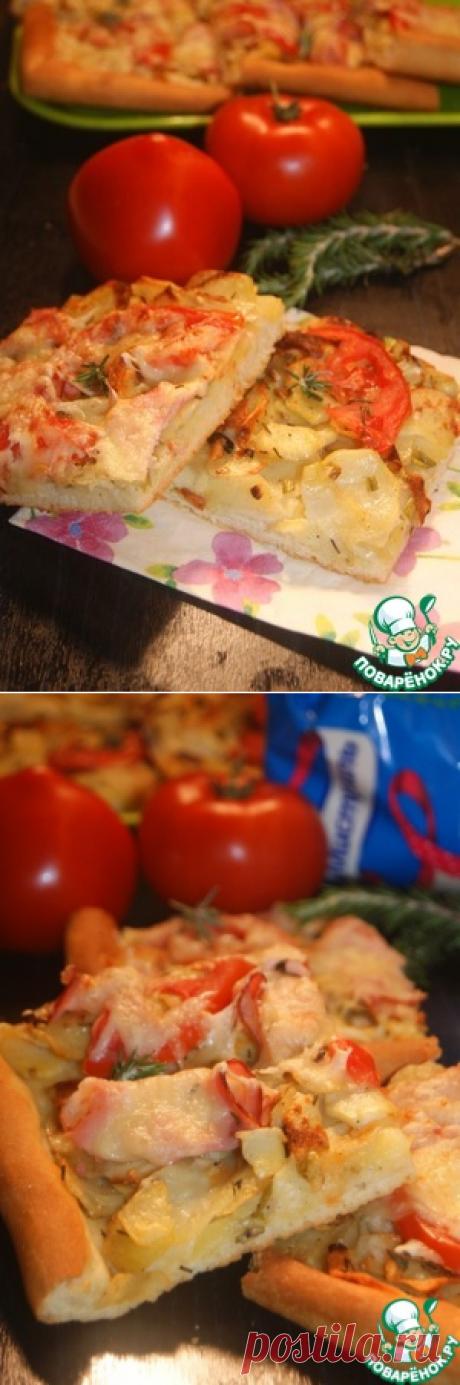 Пицца от двух Шефов - кулинарный рецепт
