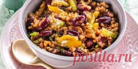 Булгур с красной фасолью и овощами Рецепт - Булгур с красной фасолью и овощами - с фото