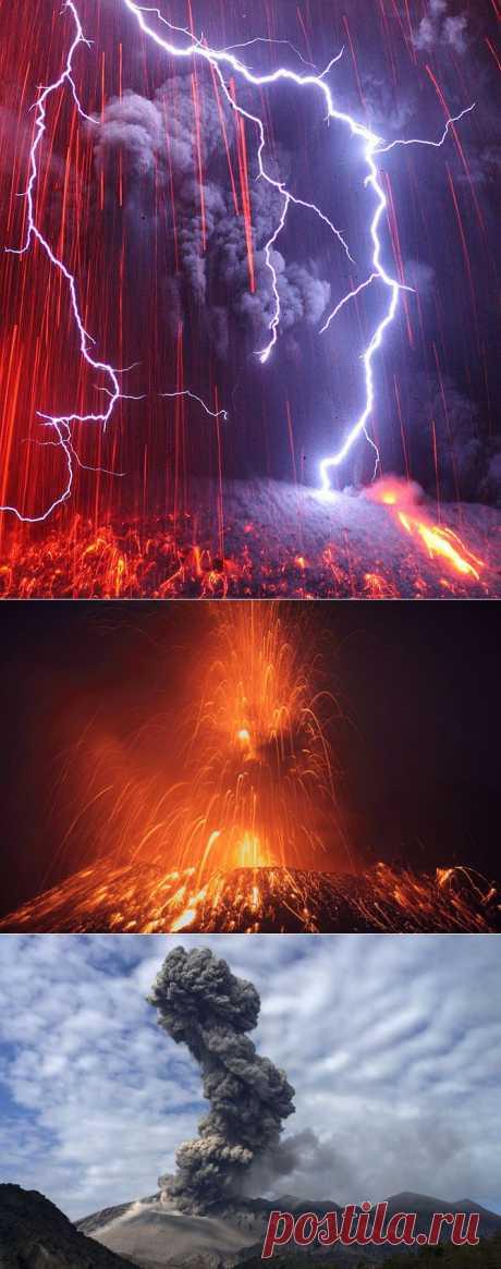 >> Извержение вулкана Сакурадзима | ФОТО НОВОСТИ