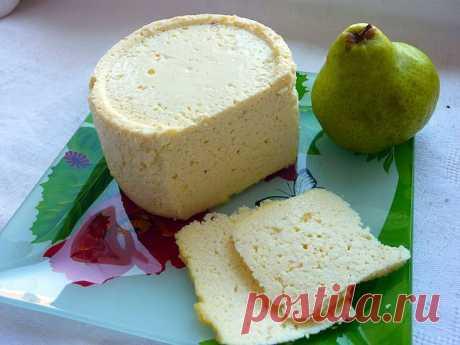 Домашний сыр в микроволновке.