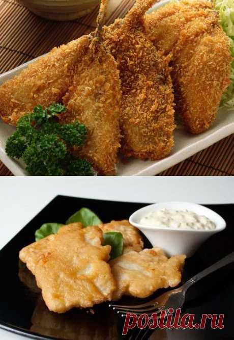 Рыба в кляре: 5 вкусных рецептов / Простые рецепты