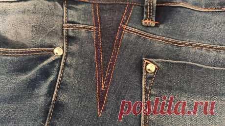 Что делать если любимые джинсы стали малы в талии: уж точно не выкидывать. Покажу, как их можно расширить   Шебби-Шик   Яндекс Дзен