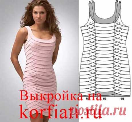 Коктейльное платье - выкройка от Анастасии Корфиати Коктейльное платье просто необходимо каждой девушке. А наше платье - просто чудо! Над этим коктейльным платьем придется потрудиться, но оно того стоит!