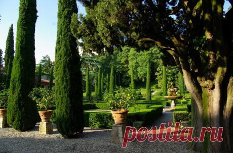 Парк Джусти (Giardini Giusti). Верона, Италия.