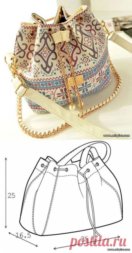 bag bag, Drawstring bag, pattern of a bag, free pattern, bag, pattern, sewing, pattern sewing, bags the hands, needlework, ready patterns, free patterns