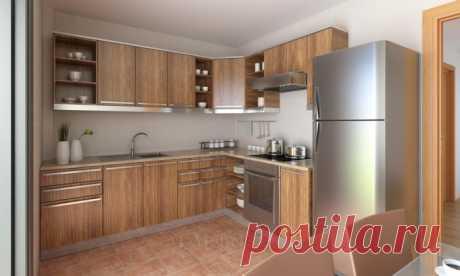 Правильное расположение холодильника на кухне
