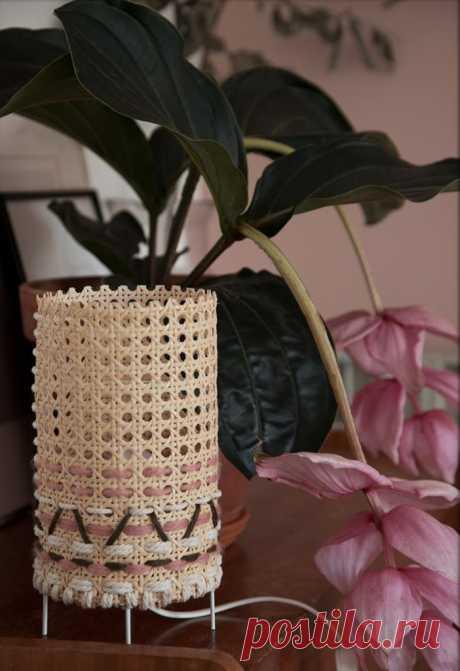 Декоративная настольная лампа для интерьера - Домашний Блог