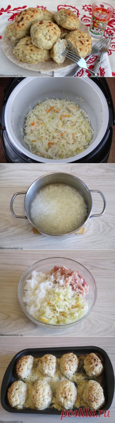 Рецепт ленивых голубцов из квашеной капусты / Меню недели