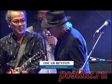 Oscar Benton   Brezoi Blues 2019 🇹🇩 (full concert) (live)