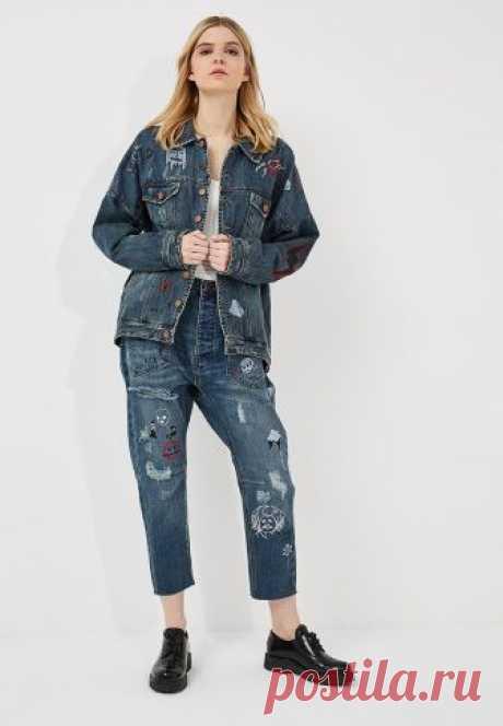 Куртка джинсовая One Teaspoon купить за 24 799 руб ON016EWAXCK2 в интернет-магазине Lamoda.ru