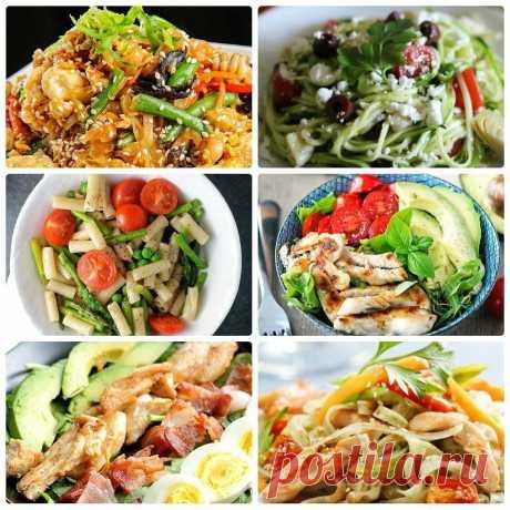 6 белковых салатиков для самого правильного ужина!