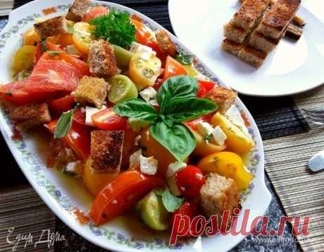 Салат из запеченных помидоров рецепт 👌 с фото пошаговый