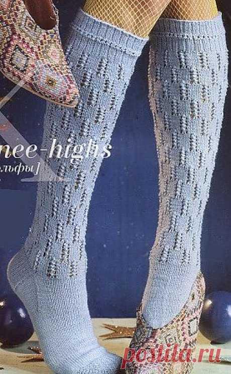 Гольфы спицами / Вязание для женщин спицами. Схемы / PassionForum - мастер-классы по рукоделию