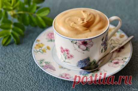 Капучино из растворимого кофе - пошаговый рецепт с фото на Повар.ру