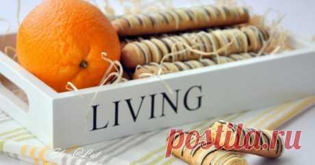 Апельсиново-ореховые палочки с шоколадом      Предлагаю, нет настоятельно рекомендую Вам испечь потрясающее печенье. Настолько хрустящее, в тоже время нежное печенье в виде палочек....
