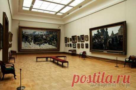 По залам музея... Третьяковская галерея. Предание оживает (Боярыня Морозова)