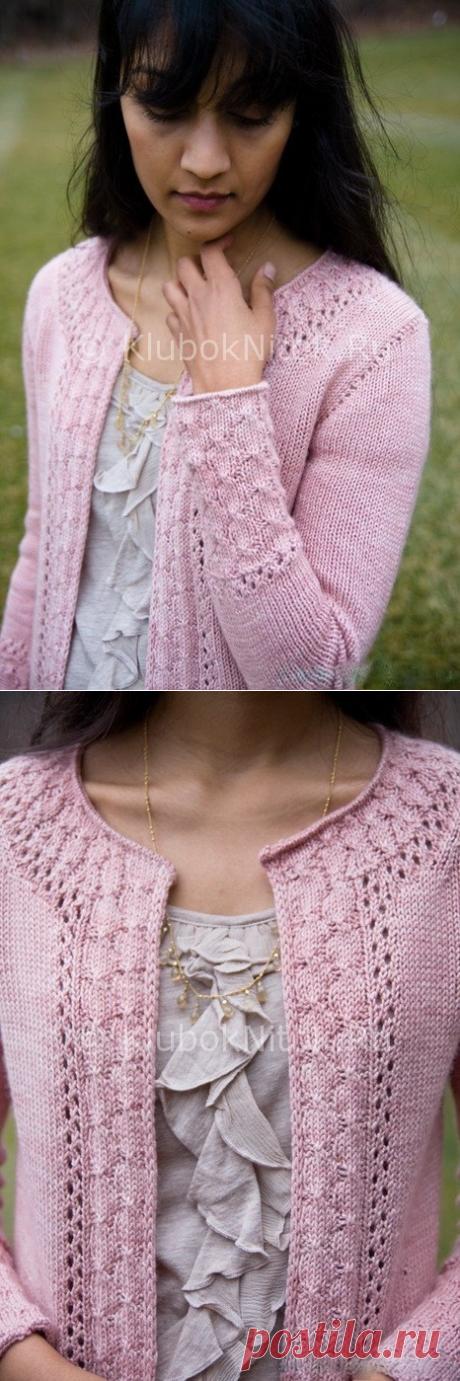 Кардиган «Александрия» | Вязание для женщин | Вязание спицами и крючком. Схемы вязания.