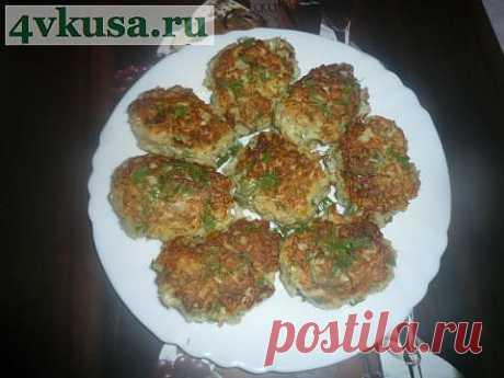 Котлеты из цветной капусты   4vkusa.ru