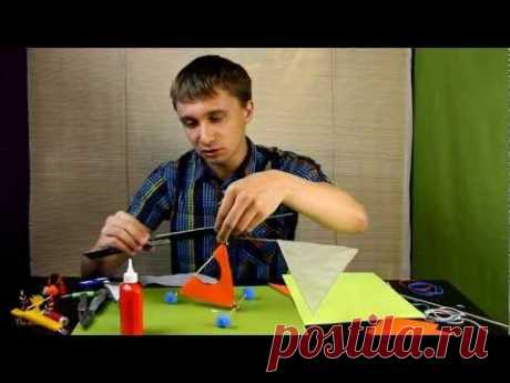 мастеркласс - Резиномоторный Вертолет _ - YouTube