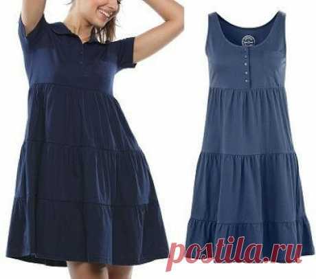 Выкройка летнего женского платья. Размеры евро от 36 до 52 (Шитье и крой) – Журнал Вдохновение Рукодельницы