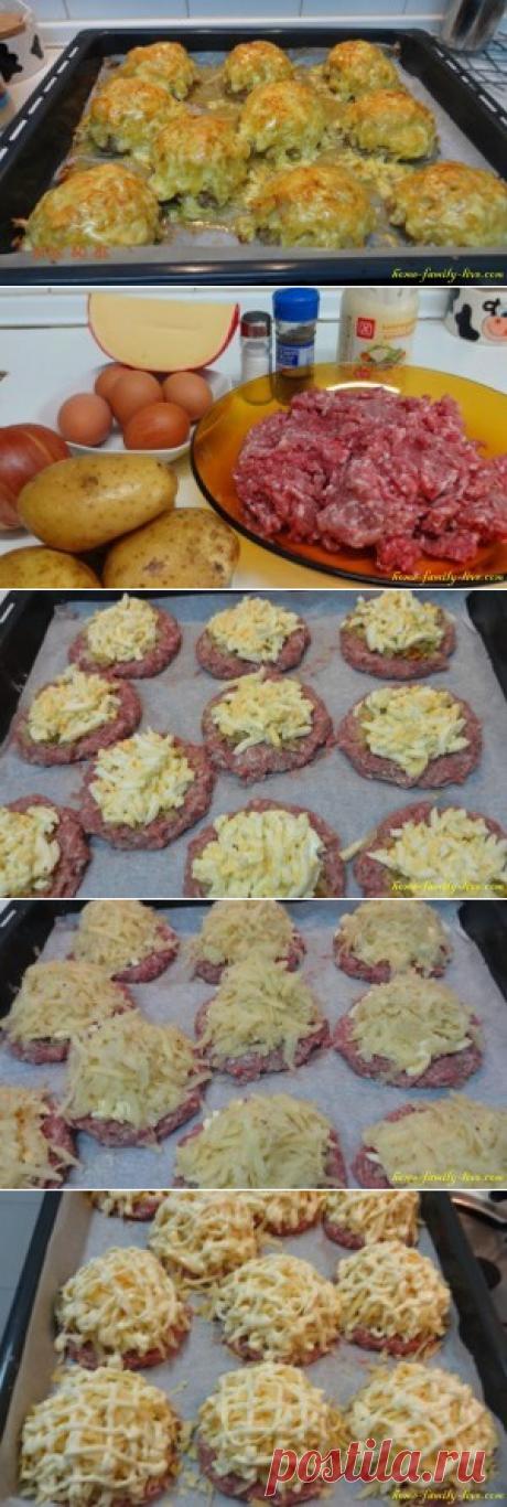 Стожки из фарша/Сайт с пошаговыми рецептами с фото для тех кто любит готовить