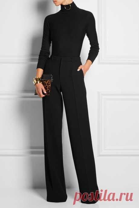 Look! Элегантные образы с брюками! — Модно / Nemodno