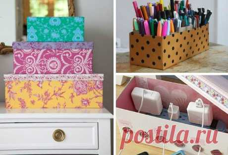 Идеи, после которых вы не будете выбрасывать картонные коробки!