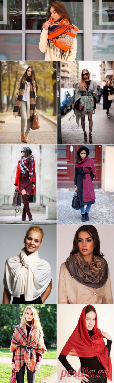 Как носить палантин – 28 фото, которые помогут красиво завязать палантин