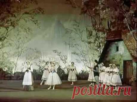 Galina Ulanova Zhizel el ballet 1956 Galina Ulanova Giselle