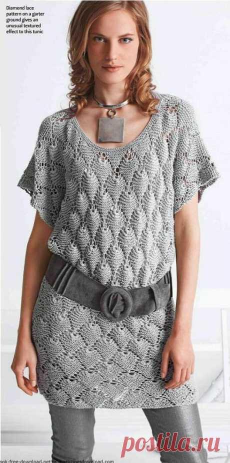 Водохновляемся очередной подборкой ажурных туник. Вяжем, вяжем, вяжем!!!   Asha. Вязание и дизайн.🌶   Яндекс Дзен