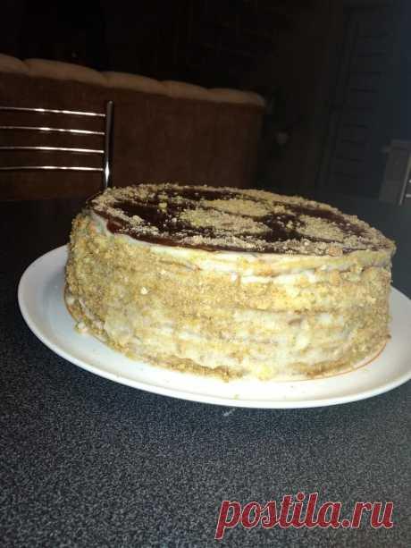 Простые рецепты. Медовый торт из детства. Для тех, кто любит натуральное.
