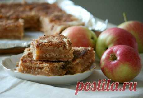 Постный насыпной пирог с яблоками: вот что я приготовлю к Яблочному Спасу!