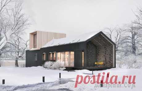 Модульный дом от белорусского бюро ZROBYM architects «LONGHOUSE – быстро сборный каркасно-щитовой дом, состоящий из 3-х модулей. Ещё два дополнительных модуля образуют летнюю террасу и навес для машины. Проект разработан как жилой дом для растущей семьи...