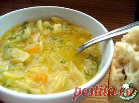 Луковый суп с капустой - кулинарный рецепт