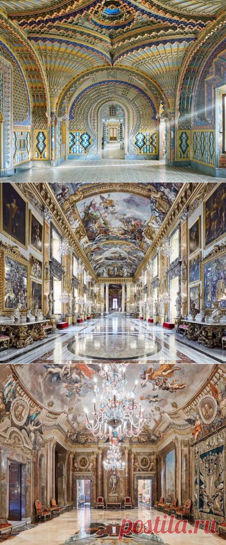 Роскошь и блеск: интерьерные фото, которые раскрывают всю красоту итальянской архитектуры