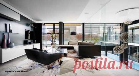 Стиль хай-тек в дизайне интерьера дома и квартиры, особенности дизайна и фото