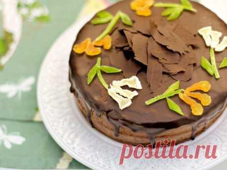Шоколадно-апельсиновый торт - Пошаговый рецепт с фото своими руками Шоколадно-апельсиновый торт - Простой пошаговый рецепт приготовления в домашних условиях с фото. Шоколадно-апельсиновый торт - Состав, калорийность и ингредиенти вкусного рецепта.