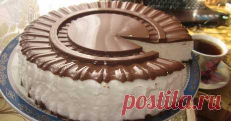 Торт «Птичье молоко» — CookingPad
